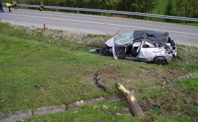V prometnih nesrečah na območju Policijske uprave Celje je letos umrlo 11 ljudi. FOTO: PU Celje