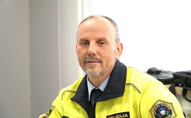 Elvis A. Herbaj, vodja oddelka za cestni promet v sektorju uniformirane policije Policijske uprave Celje. FOTO: Brane Piano