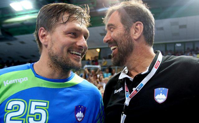 Marko Bezjak in Veselin Vujović sta imela vzpone in padce, vprašanje je, če bosta še sodelovala. FOTO: Tomi Lombar