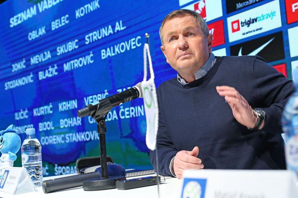 Matjaž Kek: Verjamem, da bo Jan Oblak nared za tekmo Avstrijo