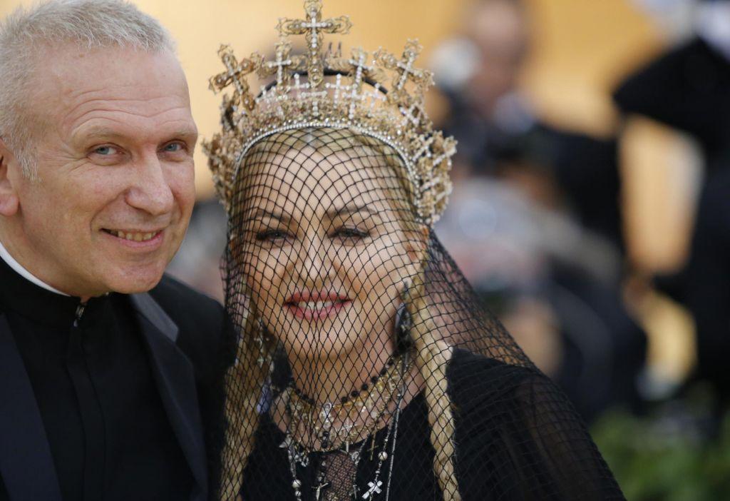 Ivana Orleanska in Gaultier