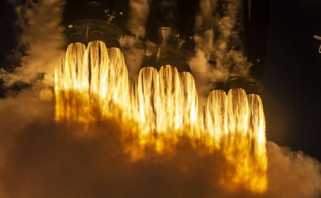 Musk potrebuje denar. FOTO: Spacex