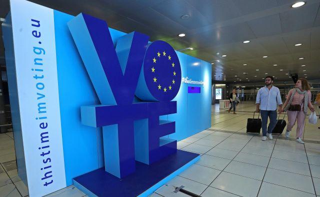 V Veliki Britaniji bodo tokrat najverjetneje zadnjič volili 73 poslancev v Evropski parlament. FOTO: Yves Herman/Reuters