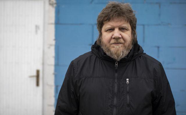 Tomislav Jovanović - Tokac je spregovoril o novih projektih.<br /> Foto Voranc Vogel
