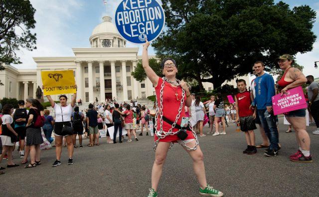 Debata o pravici do splava je debata o čustvih. FOTO: Reuters
