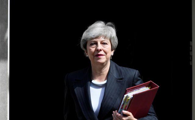 Britanska premierka je ta teden zapravila zadnjo priložnost za rešitev svojega mandata – in politične zapuščine. FOTO: Reuters