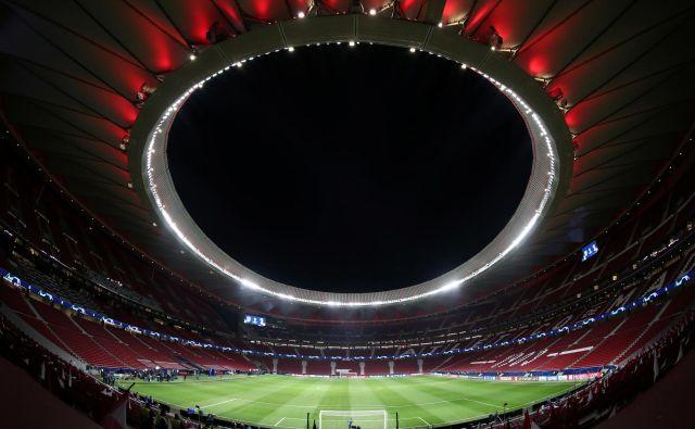 Wanda Metropolitano – prizorišče finala lige prvakov. Madrid bo petič gostil najpomembnejšo klubsko tekmo na svetu. FOTO: Reuters