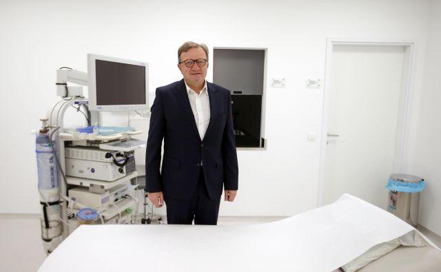 Dr. Marko Bitenc: »Moški pri nas imajo že ob rojstvu krajše življenjsko upanje.« FOTO: Jože Suhadolnik