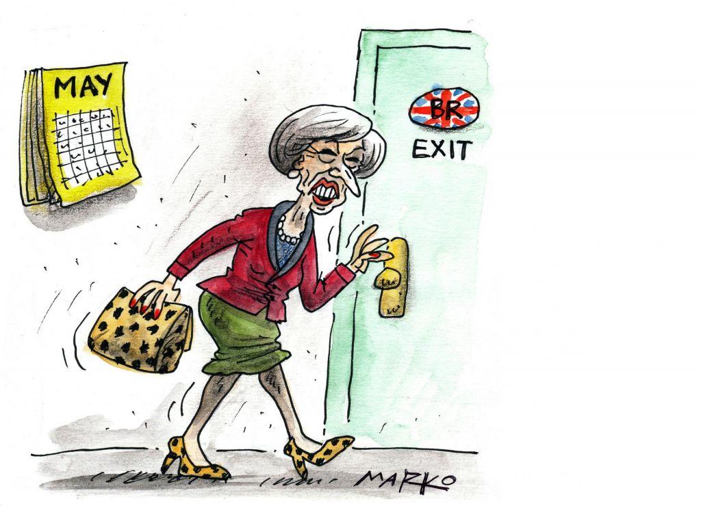 Brexit z veliko začetnico