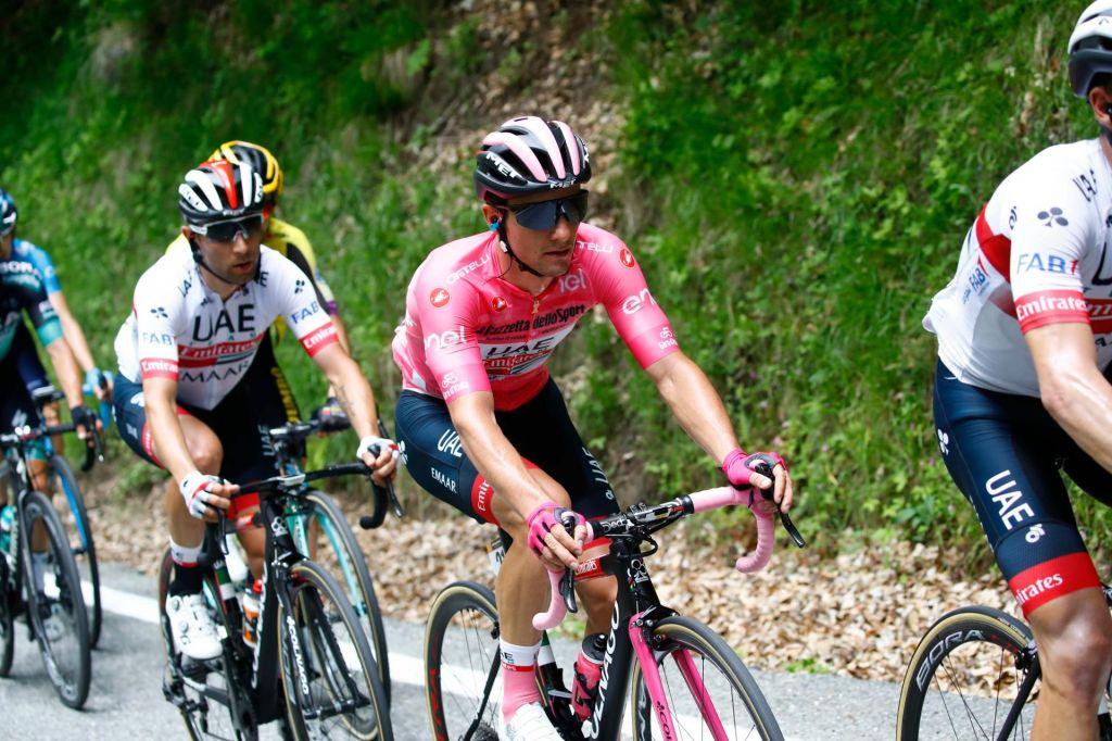 FOTO:Za rožnato majico se je Polanc boril kot lev