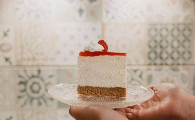 Cheesecake brez peke Foto: Sonja Ravbar