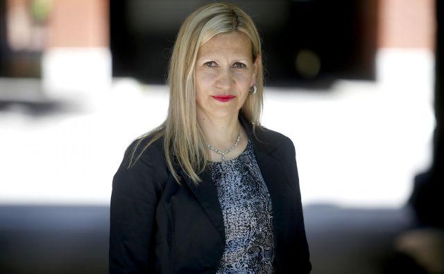 Vesna Marinko je na AVP že od leta 2010 zaposlena kot vodja sektorja za razvoj in koordinacijo varnosti prometa. FOTO: Roman Šipić