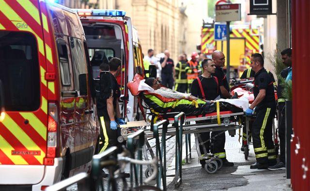 Preiskavo je prevzel protiteroristični oddelek pariškega tožilstva. FOTO:Philippe Desmazes Afp