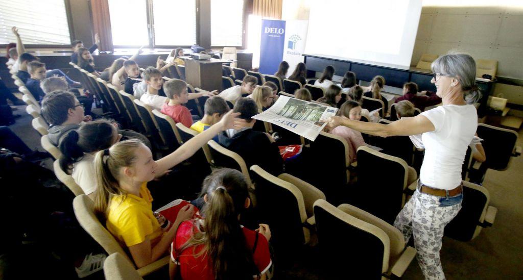 FOTO:Mladi okoljski novinarji pišejo za starše