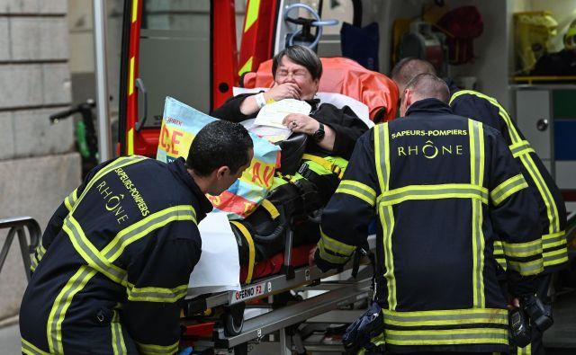Ranjenih je bilo 13 ljudi. FOTO: Philippe Desmazes/Afp
