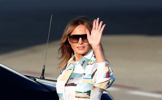 Melania Trump FOTO: Daily Mail