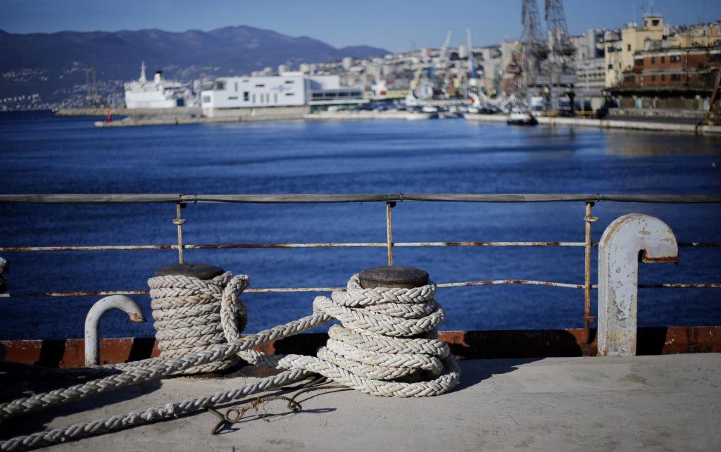 V pristanišču na Reki nov kontejnerski terminal