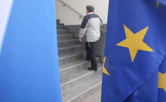 Nato in EU se tudi trudita skupaj v boju proti dezinformacijam na spletu in družbenih omrežjih. FOTO: Tadej Regent/Delo