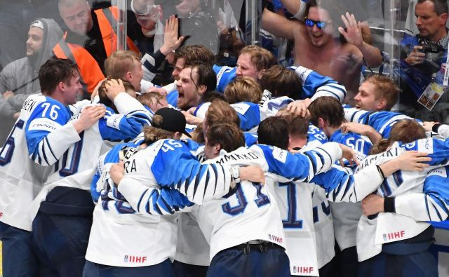 Finci so presenetljivi svetovni prvaki. FOTO: AFP