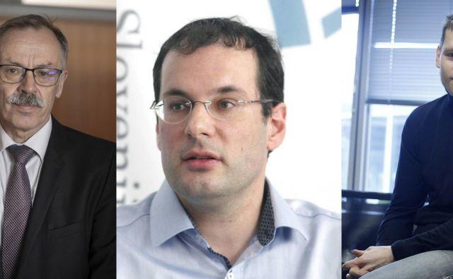 Sociologa Gorazda Kovačiča, ekonomista Mojmirja Mraka in politologa Marka Lovca smo prosili za komentar volilnih izidov. FOTO: Arhiv Dela