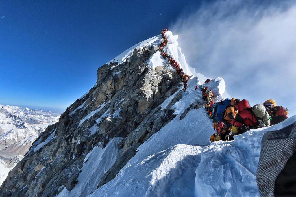 Nepalska vlada zanika odgovornost za gnečo na Everestu