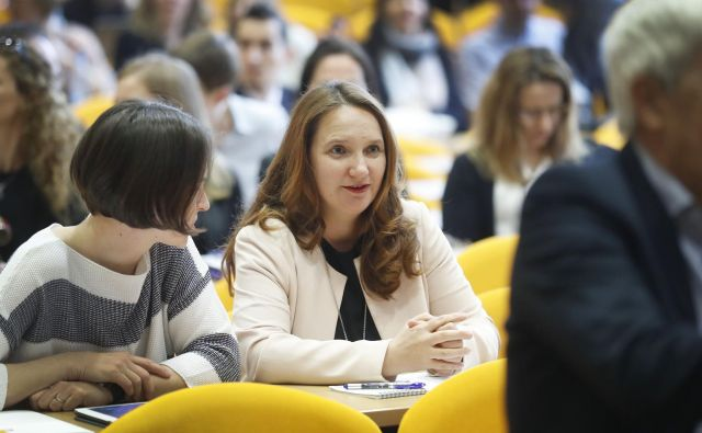 Pričanje Simone Drenik, nekdanje vodje skupine za arbitražo, bo po oceni Mateja Tonina, predsednika Knovs, ključno. FOTO: Leon Vidic