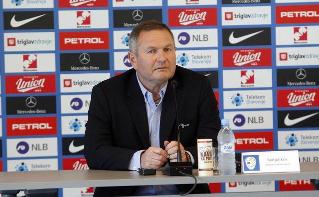 """""""Želim zaostriti konkurenco in dobiti kakšno rešitev več v zvezni vrsti,"""" je potegnil črto pod seznam reprezentantov 57-letni Mariborčan. FOTO: Mavric Pivk"""