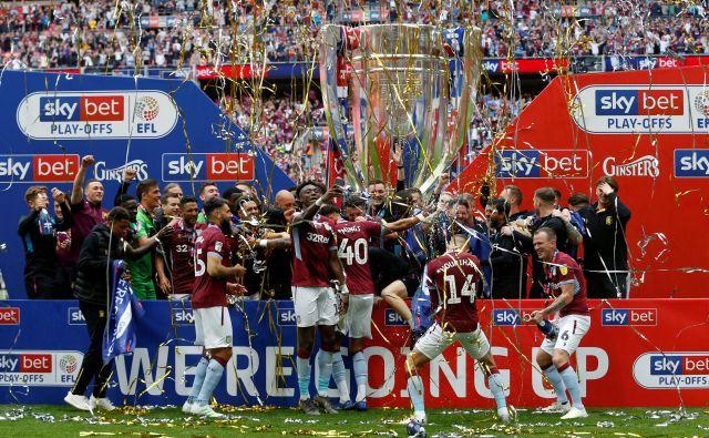 Na Wembleyju je vladalo izjemno navdušenje. FOTO: Reuters