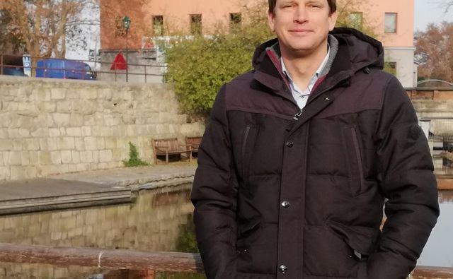 izr. prof. dr. Matej Ogrin, strokovnjak za geografijo prometa.<br /> Foto osebni arhiv