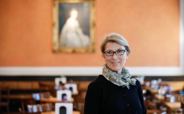 Suay Aksoy je Mednarodnemu muzejskemu svetu začela predsedovati pred tremi leti. FOTO: Uroš Hočevar