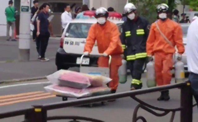 Dve osebi sta umrli v napadu, preminil je tudi napadalec. FOTO: Reuters
