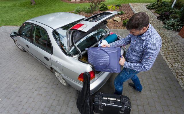 Za varno razporeditev prtljage si je treba vzeti čas. FOTO: Shutterstock
