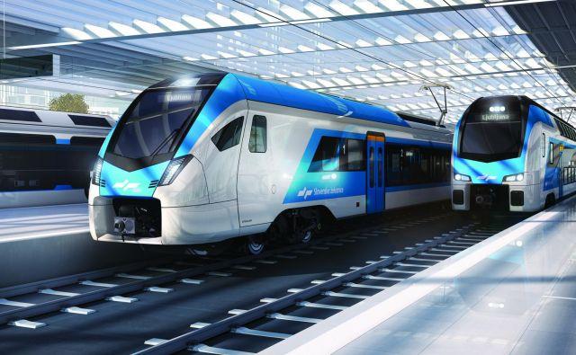 Slovenske železnice so naročile še 26 dodatnih novih vlakov. FOTO: Arhiv SŽ