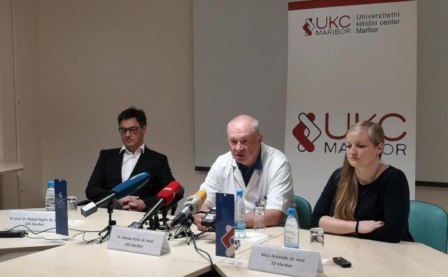 Za zdaj uspeva zdravnikom opraviti vse naloge, vprašanje pa je, kako jih bodo v prihodnje. FOTO: Nina Mlakar (UKC Maribor)