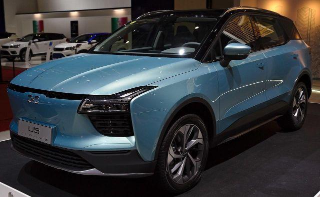 Kitajski elektični avto, ki bo kmalu vozil po evropskih cestah. Foto: Wikipedia