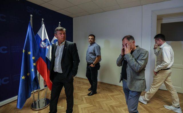 Stranka bo po slabem rezultatu na volitvah začela priprave na jesenski volilni in programski kongres. FOTO: Voranc Vogel/Delo