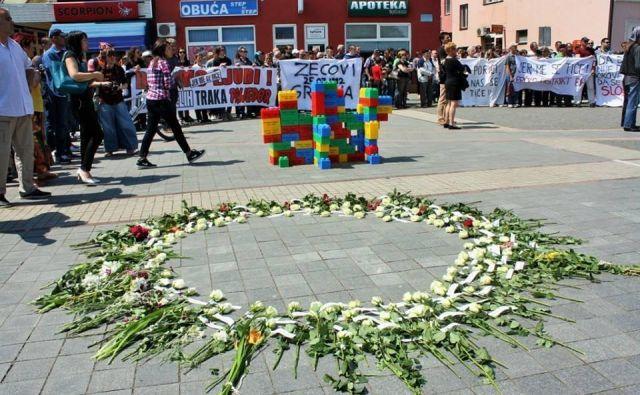 Lanska spominska manifestacija v mestu Prijedor FOTO: Sudbin Musić