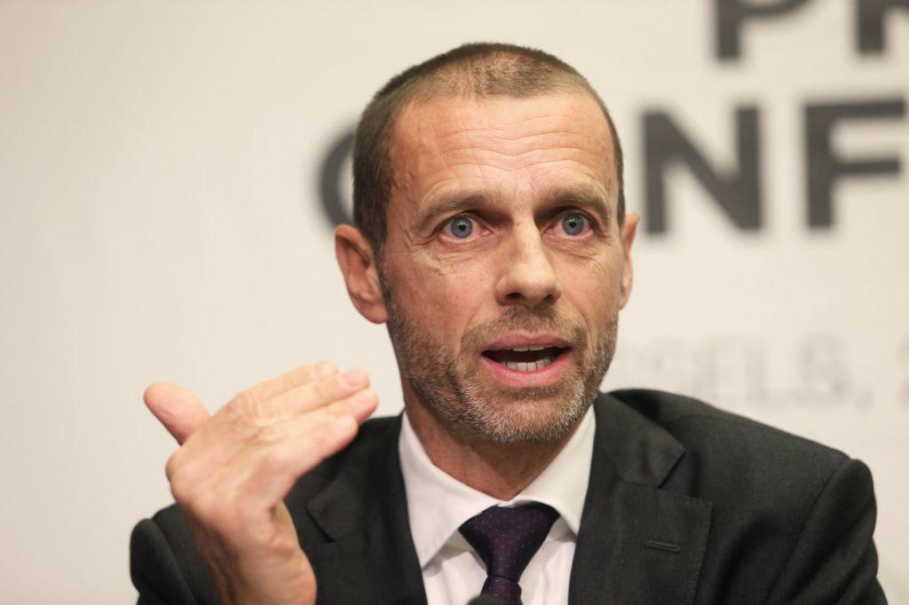 Čeferin za Spiegel: Finale v Bakuju? Nogometa ne moremo razvijati zgolj v Angliji in Nemčiji