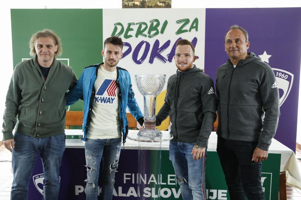Olimpija in Maribor pripravljena za četrtkov slovenski derbi