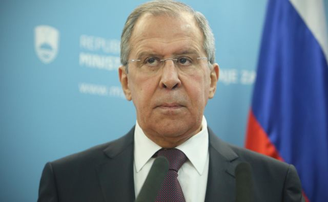 Ruski zunanji minister Sergej Lavrov je Slovenijo nazadnje obiskal februarja lani. FOTO: Jure Eržen/Delo