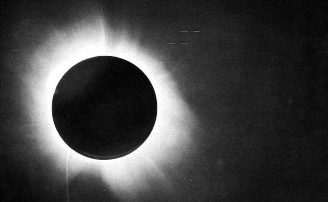 Sončni mrk 29. maja 1919. FOTO: Nasa