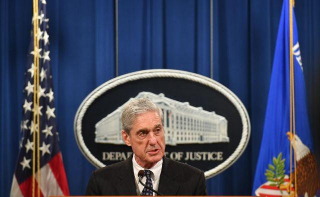 Mueller je v današnjem nagovoru ponovno zatrdil, da ni dvoma o ruskem vpletanju v ameriške predsedniške volitve. FOTO: Mandel Ngan/Afp