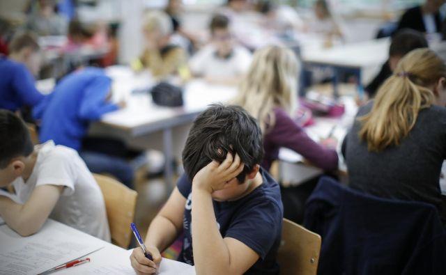 Normativ določa enega svetovalnega delavca za šolo z dvajsetimi oddelki. To pomeni, da en svetovalni delavec lahko skrbi za do 560 otrok. FOTO: Uroš Hočevar
