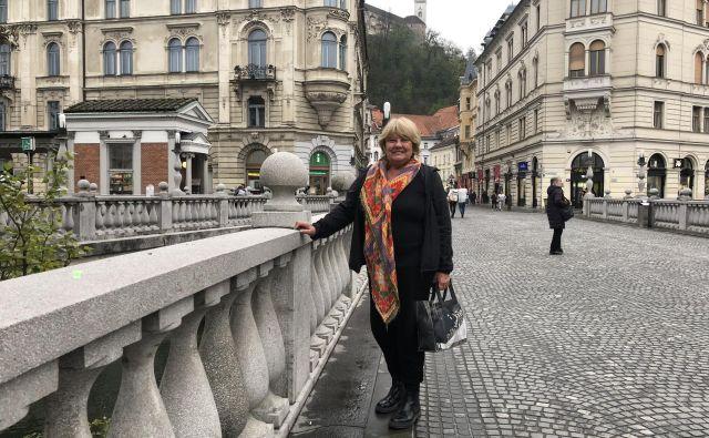 Elisabeth Milharcic: Slovenija je resda v meni, toda moja država je Argentina. FOTO: Aljaž Vrabec