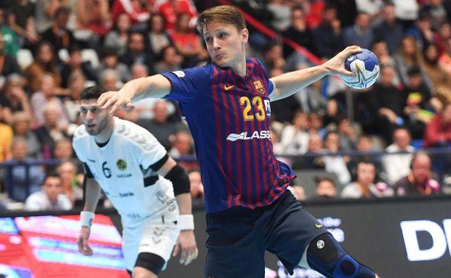 Jure Dolenec lovi prvi naslov evropskega prvaka. FOTO: Barça Lassa