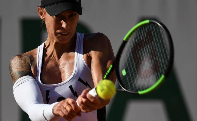 Polona Hercog igra veliko bolje, kot kaže njena uvrstitev na svetovni lestvici. FOTO: Reuters