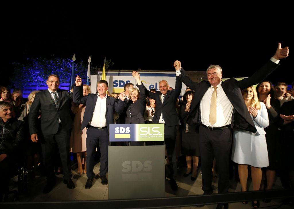 Tudi po pošti največ glasov za SDS in SLS