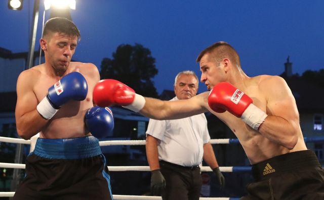 Andrej Baković (desno) optimistično pričakuje jutrišnji dvoboj v Vidmu. FOTO: Dejan Javornik