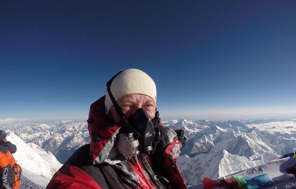 FOTO:»Osvojitev Everesta je bila zame nekakšna odrešitev«