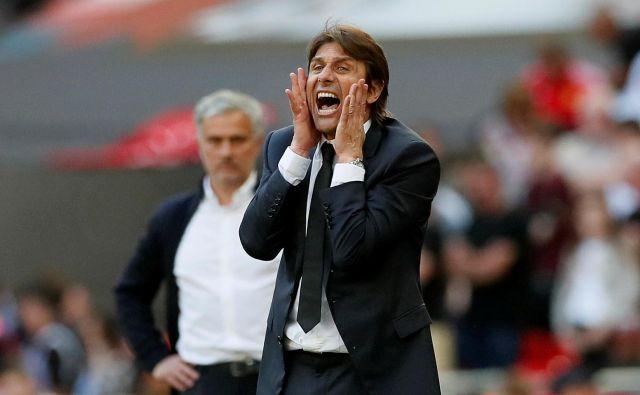 Antonio Conte se vrača na trenersko klop, odslej pri Interju iz Milana. FOTO: Reuters